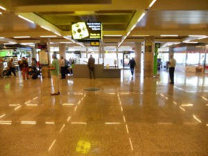 Main Arrivals Area At Palma Airport